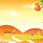 秋の無料背景画像1
