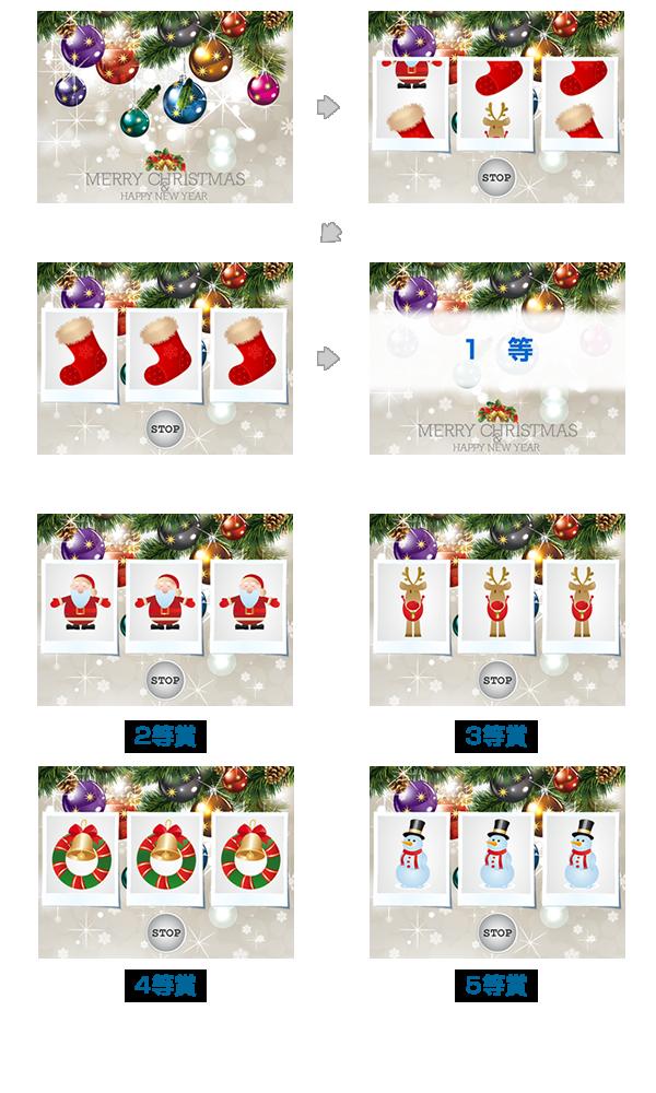 クリスマス抽選会の試作2