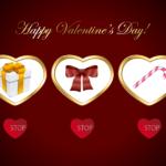 バレンタイン抽選機の無料素材